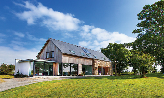 Zero Carbon House designed by BGA Architects