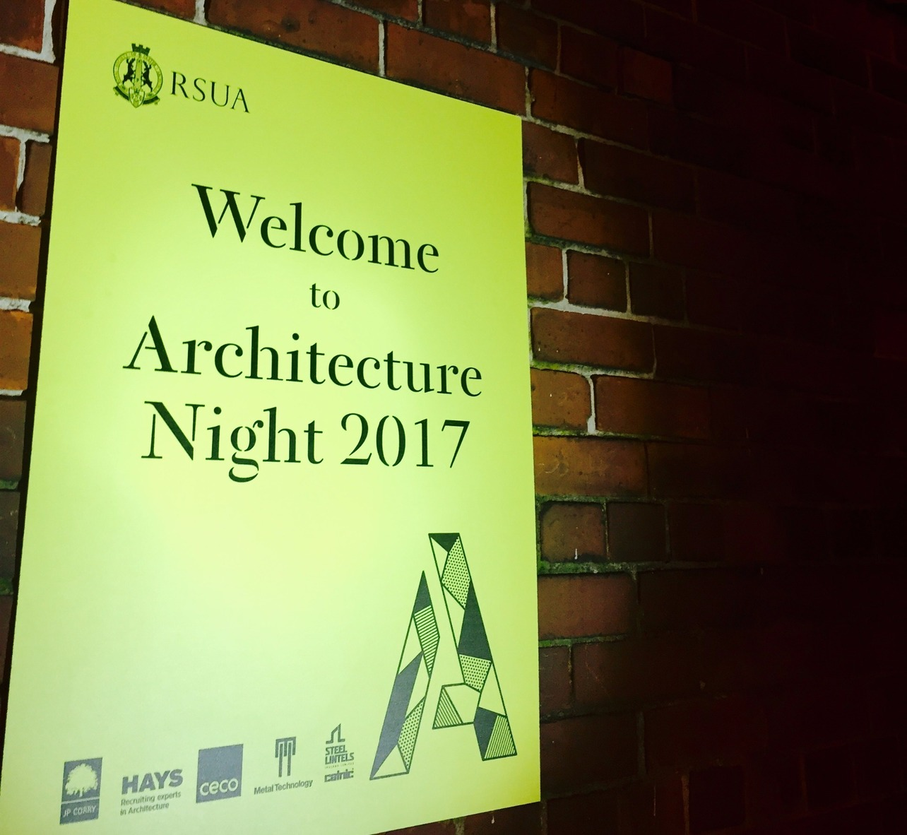 RSUA Architecture night